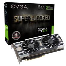EVGA GTX 1070 SC GAMING ACX 3.0 8GB GDDR5 Desktop Graphic Card